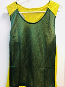 Forest Green/Yellow Pinny