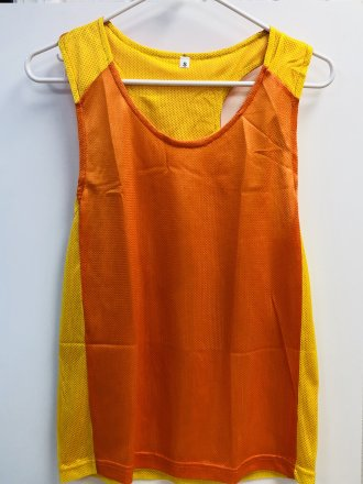 Orange/Yellow Pinny