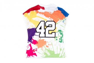 Harrow White Splatter Paint CoolStick jersey