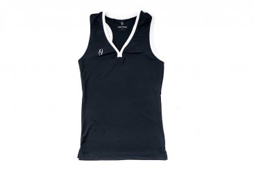Harrow Black Racerback Tank Top